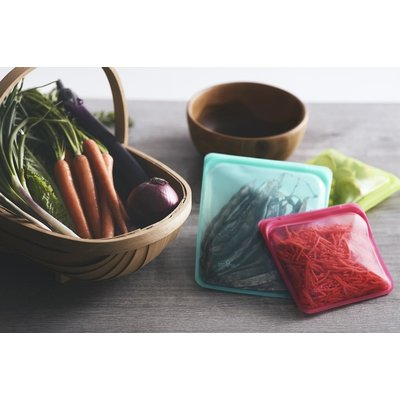 Home and Garden Stasher Silicone Bag - Sandwich - Assorted Colors