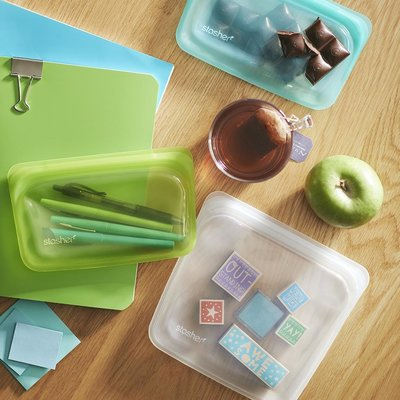 Home and Garden Stasher Silicone Bag - Snack - Assorted Colors
