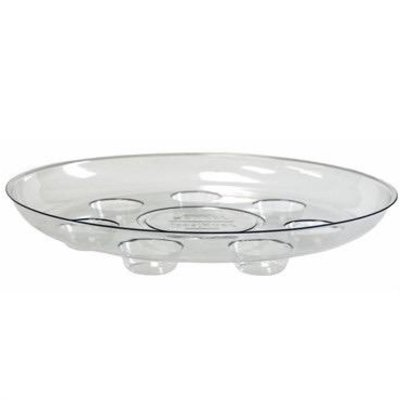 Curtis Wagner Carpet Saver Clear Saucer - 14 in