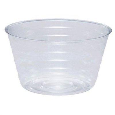 Indoor Gardening Deep Clear Saucer/Basket Liner - 6 in