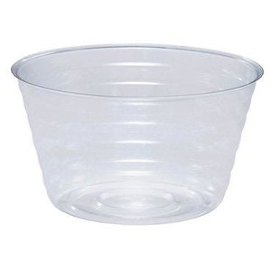 Indoor Gardening Deep Clear Saucer/Basket Liner - 8 in