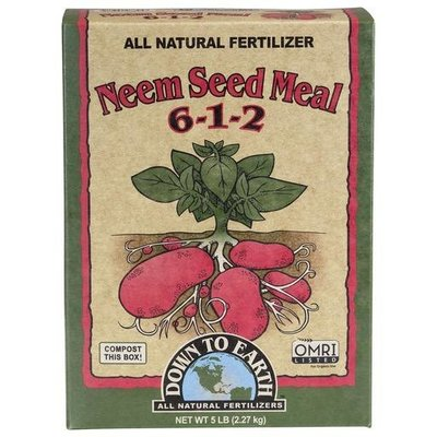 Down to Earth Down to Earth Organic Neem Seed Meal - 5 lb