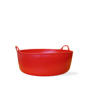 Red Gorilla Tub Red Gorilla Small & Shallow Tubtrug - 4 gal/15 ltr