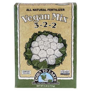 Down to Earth Down to Earth Organic Vegan Mix - 5 lb