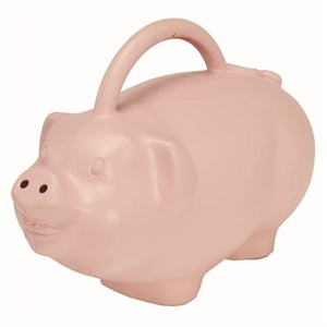 Outdoor Gardening Babbs the Pig Novelty Watering Can - 1.75 gal