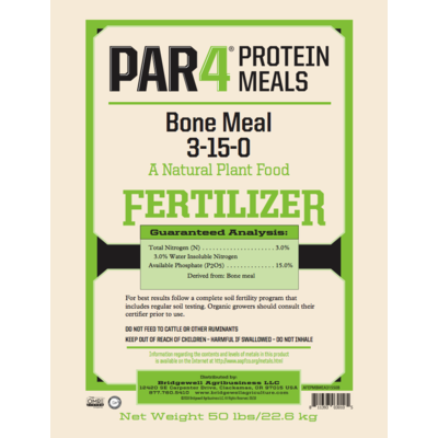 PAR4 PAR4 Organic Steamed Bone Meal - 50 lb