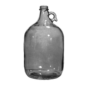 LD Carlson Clear 1 Gallon Glass Jug - Case/4