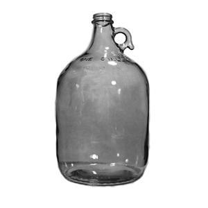 LD Carlson Clear 1 Gallon Glass Jug - Case/4