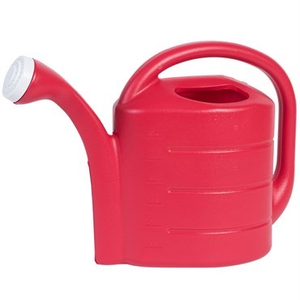 Outdoor Gardening Red Watering Can - 2 gallon