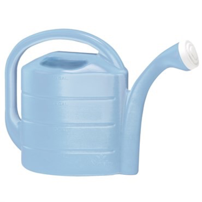 Novelty Blue Watering Can - 2 gallon