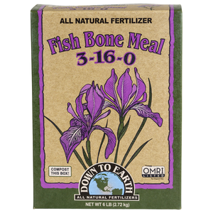 Outdoor Gardening Down to Earth Organic Fish Bone Meal - 5 lb