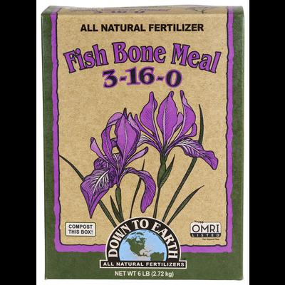 Down to Earth Down to Earth Organic Fish Bone Meal - 5 lb