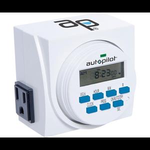 Autopilot Autopilot Dual-Outlet Digital Timer - 120 volt