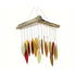Blue Handworks Glass Leaf and Driftwood Chime