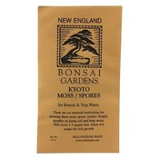 New England Bonsai Co Kyoto Moss Spores Packet - .5 oz