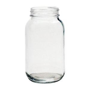 Anchor Ball Regular Mouth Canning Jars - 32 oz Quart - 12 count