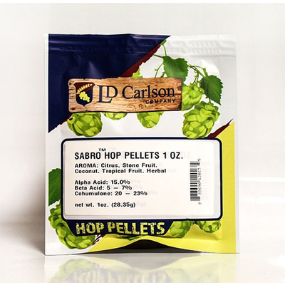 Yakima Chief Sabro Hop Pellets - 1 oz