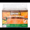 Hydrofarm GrowIt Coco Coir Brick - 3 pack