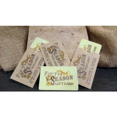 Fifth Season Gardening Co Fifth Season Gift Card