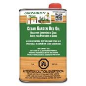 Home and Garden Gronomics Cedar Garden Bed Oil - 1 qt