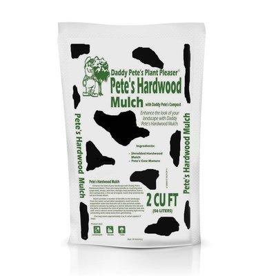 Daddy Pete's Plant Pleaser Daddy Pete's Hardwood Mulch - 2cuft
