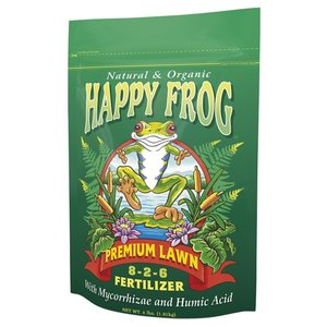 Outdoor Gardening FoxFarm Happy Frog Premium Lawn Fertilizer - 4 lb