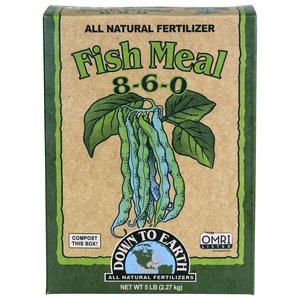 Down to Earth Down to Earth Fish Meal (8-6-0) - 5 lbs