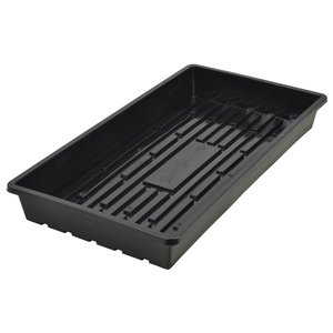 Propagation Heavy Duty Flat Black Propagation Tray without Holes