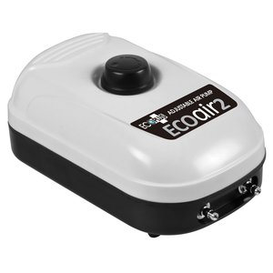 Indoor Gardening EcoPlus Air 2 Air Pump - 2 outlets (6w)