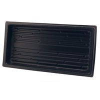 Propagation Flat Black Propogation Tray without Holes