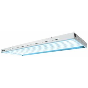 Lighting Sun Blaze 48 HO T5 Fluorescent Fixture -  8 Lamp - 4 Foot - 120 Volt