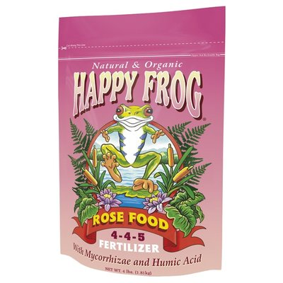Outdoor Gardening FoxFarm Happy Frog Rose Food Fertilizer - 4 lb