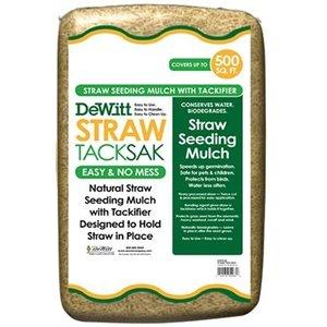 Outdoor Gardening DeWitt Straw TackSak - 28 lb