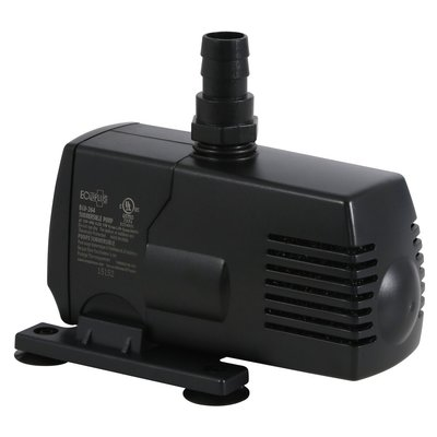 Indoor Gardening EcoPlus Submersible Pump-264 GPH