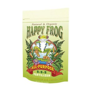 Outdoor Gardening FoxFarm Happy Frog Organic All Purpose Fertilizer