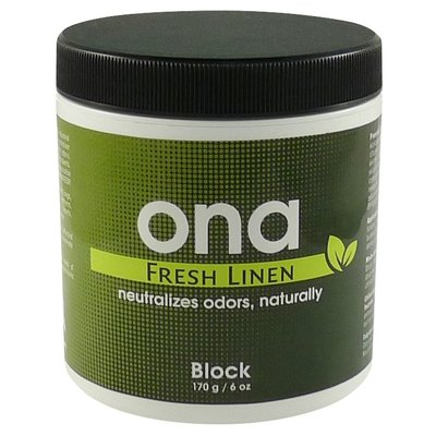 Ona Ona Block-Fresh Linen (6oz)