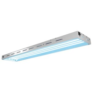 Lighting Sun Blaze 44 HO T5 Fluorescent Fixture -  4 Lamp - 4 Foot - 120 Volt