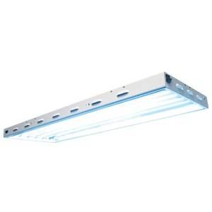 Lighting Sun Blaze 46 HO T5 Fluorescent Fixture -  6 Lamp - 4 Foot - 120 Volt