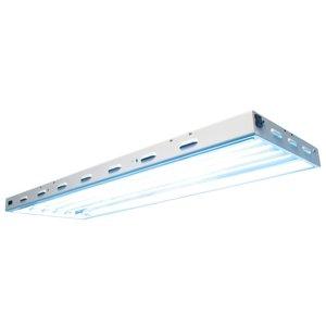 Lighting Sun Blaze 46 HO T5 Fluorescent Fixture -  6 Lamp - 4 Foot - 120 Volt