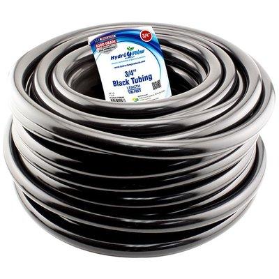 """Indoor Gardening Tubing-Vinyl Black-1/2"""""""