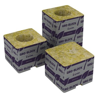 Indoor Gardening Rockwool 3x3x2.5-NO HOLE