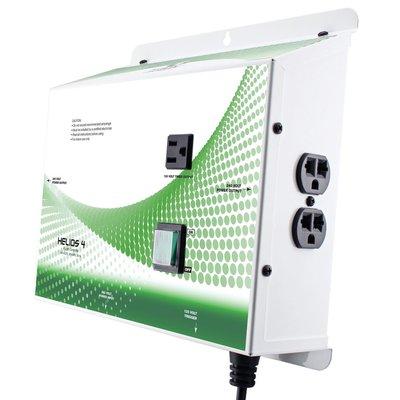 Indoor Gardening Titan Helios 4- 4 Light 240V Controller w/ Relay Trigger Cord