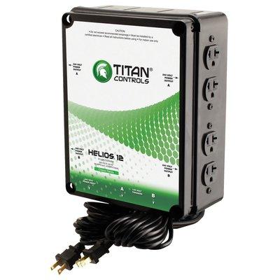 Indoor Gardening Titan Helios 8- 8 Light 240V Controller w/ Dual Trigger Cords