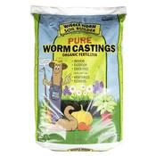Outdoor Gardening WiggleWorm Soil Builder Pure Organic Worm Casting - 30 lb
