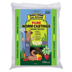 Outdoor Gardening Worm Castings 1-0-0;4.5lb