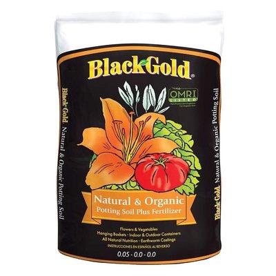 Outdoor Gardening Black Gold Natural & Organic Potting Soil - 8 qt