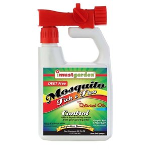 Pest and Disease I Must Garden Mosquito Tick and Flea - Hose End Sprayer 32oz