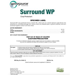 Pest and Disease Surround WP Organic Crop Protectant - 25 lb