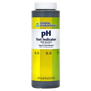 Indoor Gardening General Hydroponics PH Test Indicator - 8oz