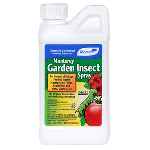 Pest and Disease Monterey Organic Garden Insect Spray - Concentrate - 16 oz